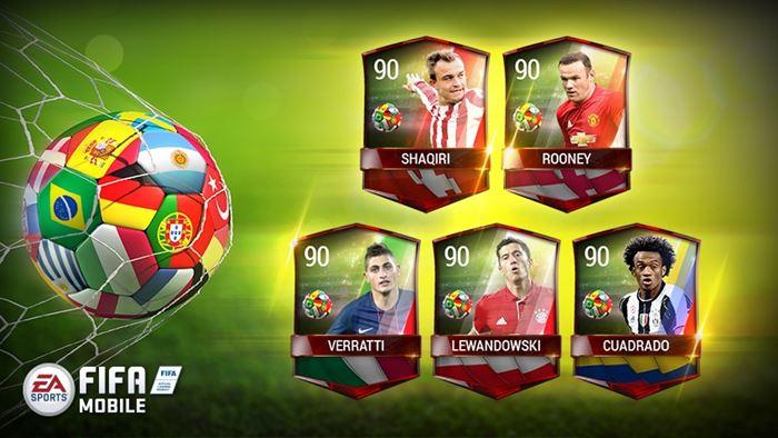 fifa-mobile-jogadores-novos-evento FIFA Mobile: novos eventos tornam mais fácil a tarefa de adquirir jogadores