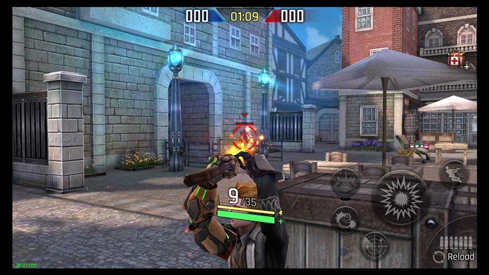 guns-rush-android-1 Guns Rush: jogo de tiro com poderes e personagens estilosos