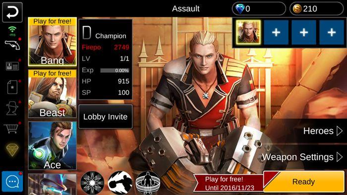 guns-rush-android-3 Guns Rush: jogo de tiro com poderes e personagens estilosos