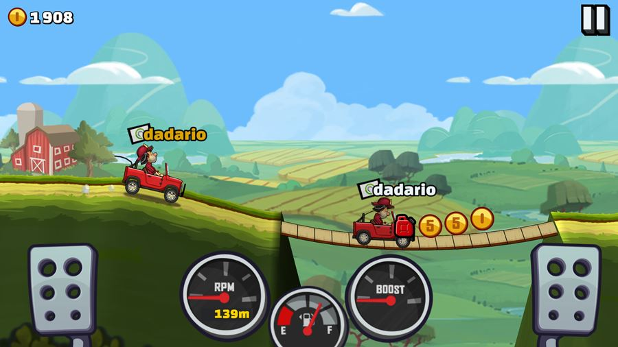 hill-climb-racing-2-android-ios-baixar-apk-2 10 Jogos LEVES e OFFLINE para Android #2