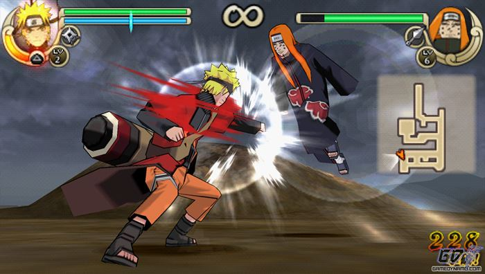 naruto-shippuden-ultimate-ninja-impact-ppsspp-android-apk 25 Melhores Jogos para Emular no PPSSPP (Android) #1
