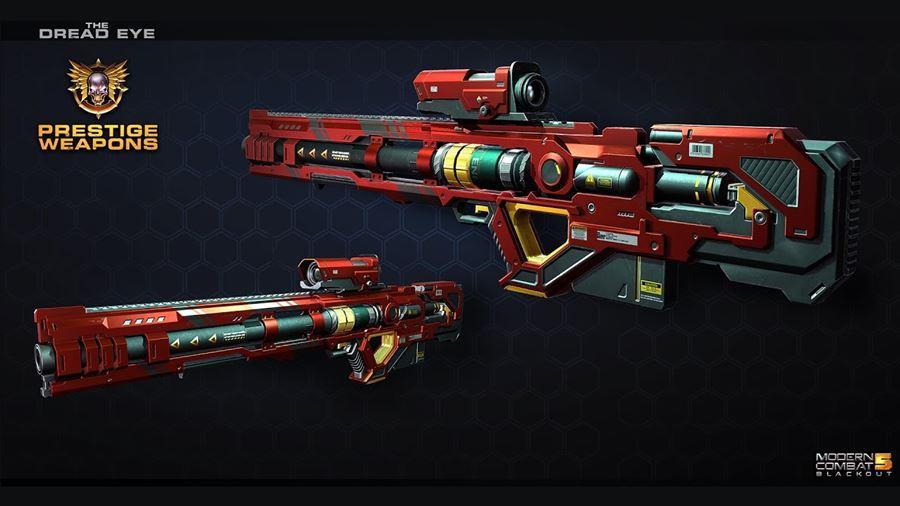 Modern Combat 5: conheça as novas armas prestígio de cada classe