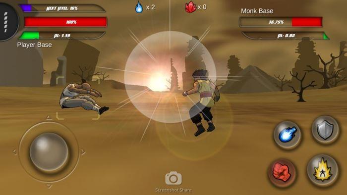 power-level-warrior-2 25 Melhores Jogos de Luta OFFLINE para Android e iOS