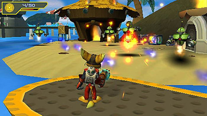 racht-clank-ppsspp-android-apk 25 Melhores Jogos para Emular no PPSSPP (Android) #1