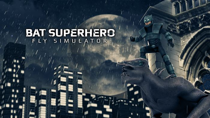 bat-superhero-android-game Vire o Batman neste simulador maluco para Android