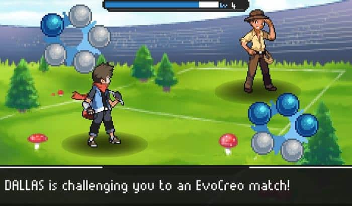 evocreo-pokemon-style-game-android 10 Jogos LEVES e OFFLINE para Android #2