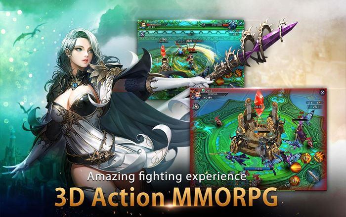 Goddess Primal Chaos: RPG Online todo em português (Android e iOS)