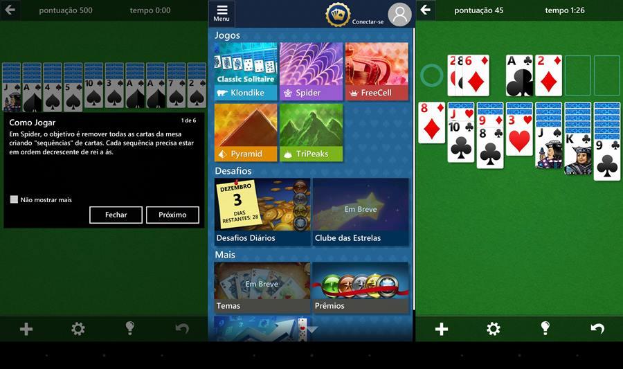 jogo-de-paciencia-windows-android-microsoft-solitaire-collection 25 Melhores Jogos para Android Grátis - 2º Semestre de 2016