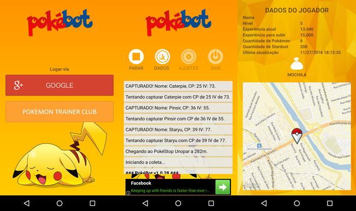pokebot-pokemon-go Pokémon GO: Bot do jogo para Android continua funcionando normalmente
