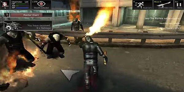 post-brutal-flamethrower Post Brutal: sobreviva ao fim da humanidade neste game de ação (Android e iOS)