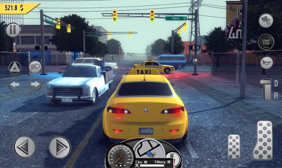taxi-driver-2017-android Taxi Driver 2017: Simulador de táxi com mundo aberto, gratuito e OFFLINE