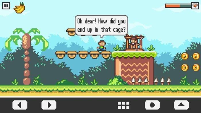 vulture-island-android-ios 25 Melhores Jogos OFFLINE de Plataforma para Android e iOS