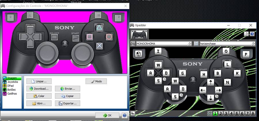 xpadder-emulador-android-nox-player Como configurar o controle USB no Emulador Android Nox Player