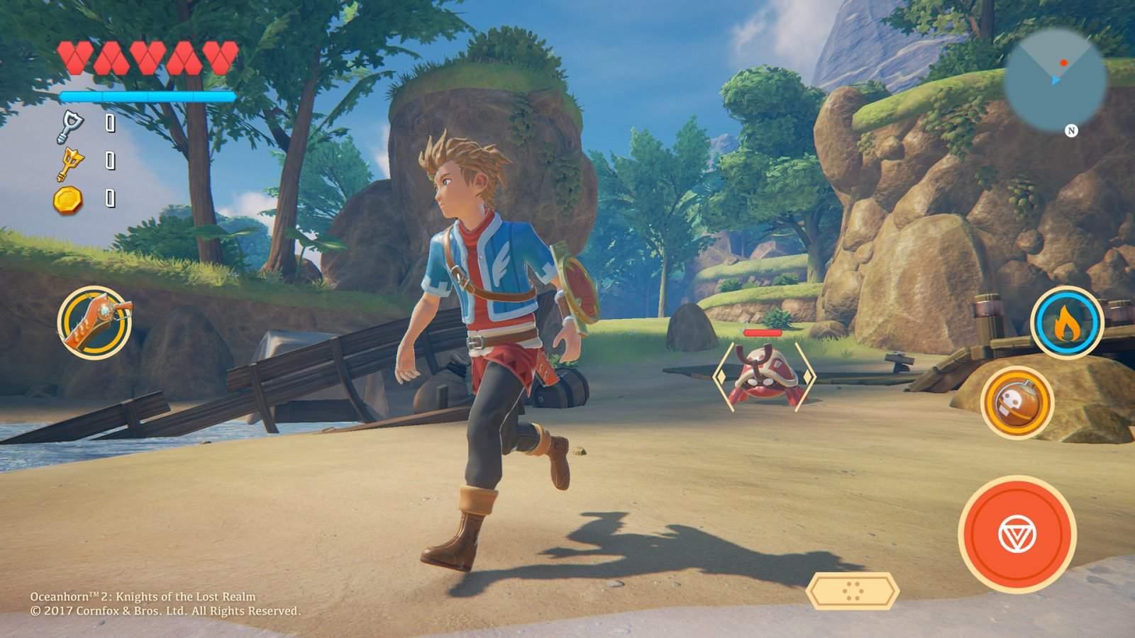 Oceanhorn-2-Mobile-screenshot-Outcast-Island-B Oceanhorn 2: novas imagens mostram jogo com Unreal Engine 4