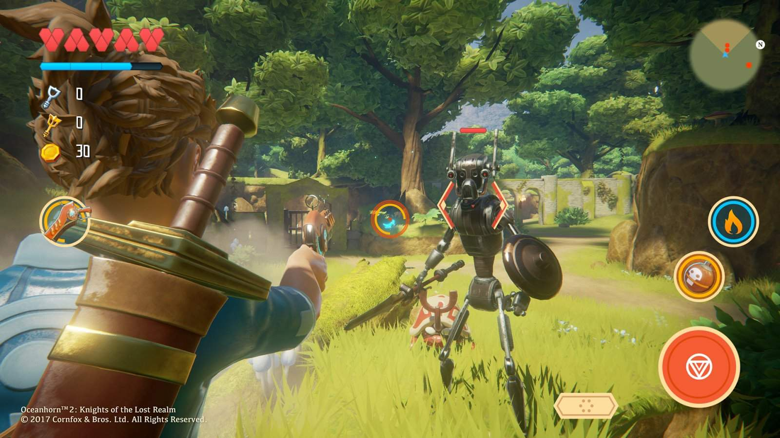 Oceanhorn-2-Mobile-screenshot-Warden-Woods Oceanhorn 2: novas imagens mostram jogo com Unreal Engine 4