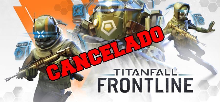 Titanfall-Frontline-Game-Cancelado O Titanfall Mobile foi cancelado antes do lançamento final