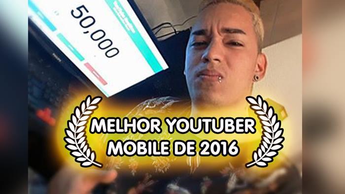 caveirinha-gamer-melhor-youtuber-mobile-2016-1 Caveirinha Gamer ganhou a votação do melhor Youtuber de jogos mobile de 2016