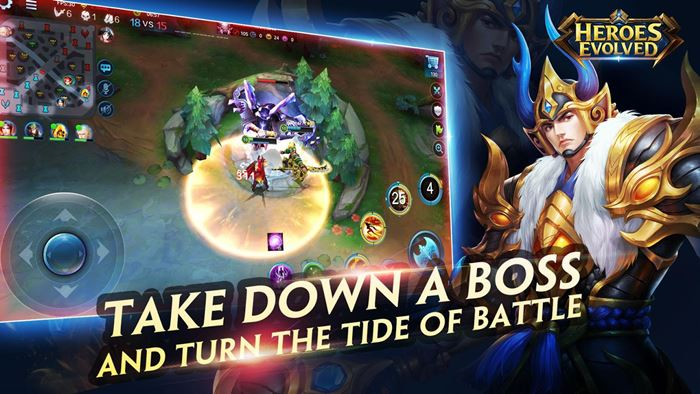 heroes-envolved-android-1 Heroes Evolved: MOBA chinês chega em inglês ao Android