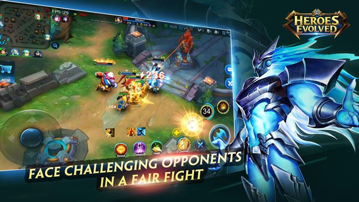 heroes-envolved-android Heroes Evolved: MOBA chinês chega em inglês ao Android