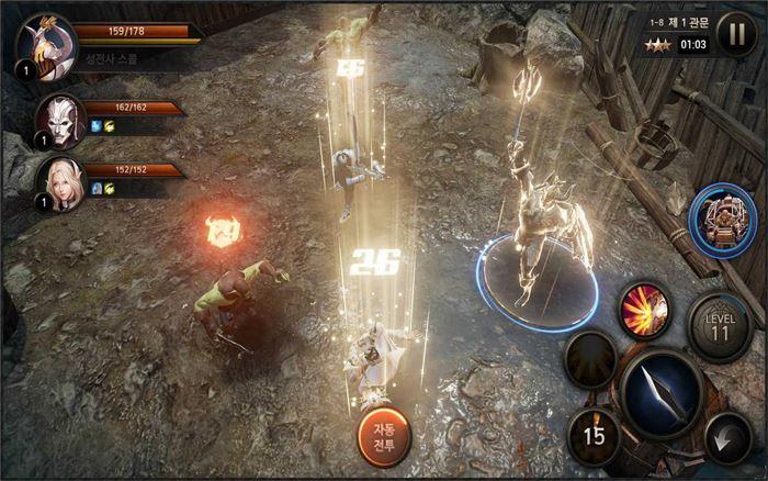 Heroes Genesis: RPG coreano com Unreal Engine 4 já está disponível! Baixe o APK!