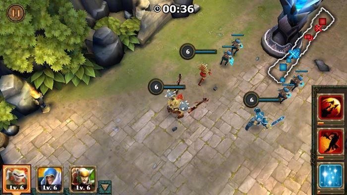 legendary-heroes-moba-offline-android-ios 25 Melhores Jogos OFFLINE para Android 2017 (#5)