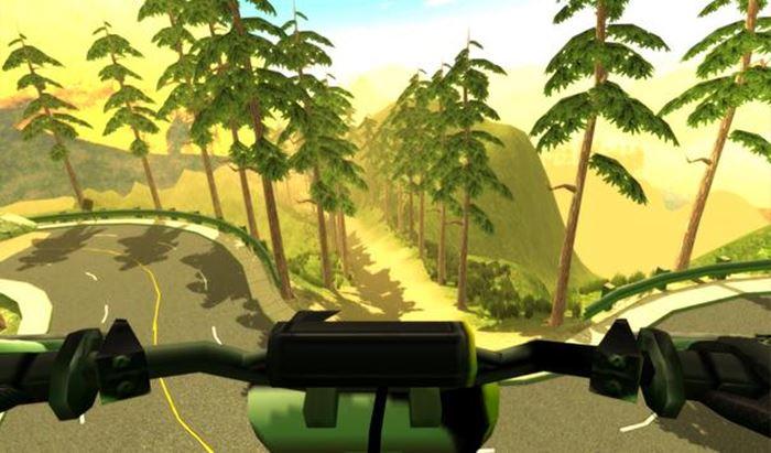 MTB Downhill: Jogo de bicicleta para Android com gráficos incríveis