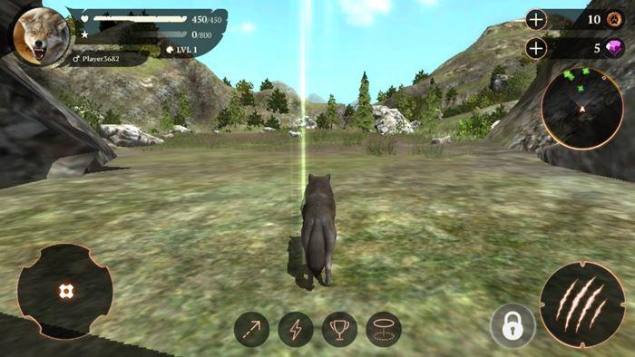 the-wolf-survivor-game-1 The Wolf: MMORPG para Android onde você é um lobo