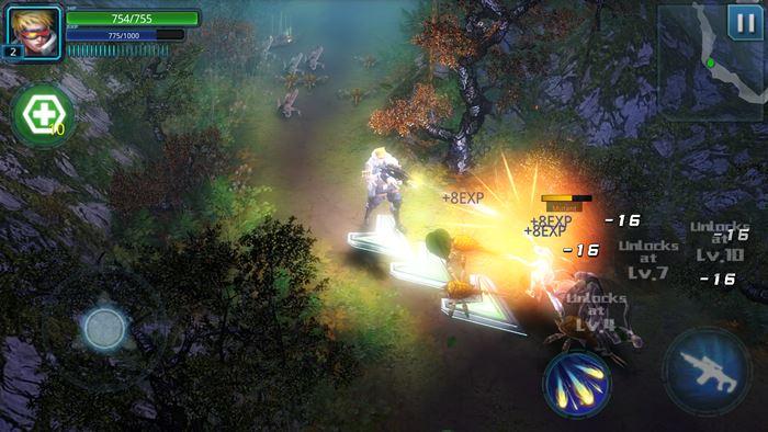 Raid-Dead-Rising-HD-android-4 Raid Dead Rising HD: Novo jogo offline da mesma produtora de Alien Zone Plus