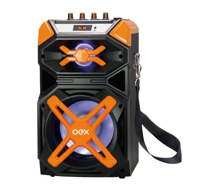 caixa-de-som-smartphone-speaker-shock-oex-1 OEX lança caixa de som Speaker Shock com Bluetooth e 120W RMS
