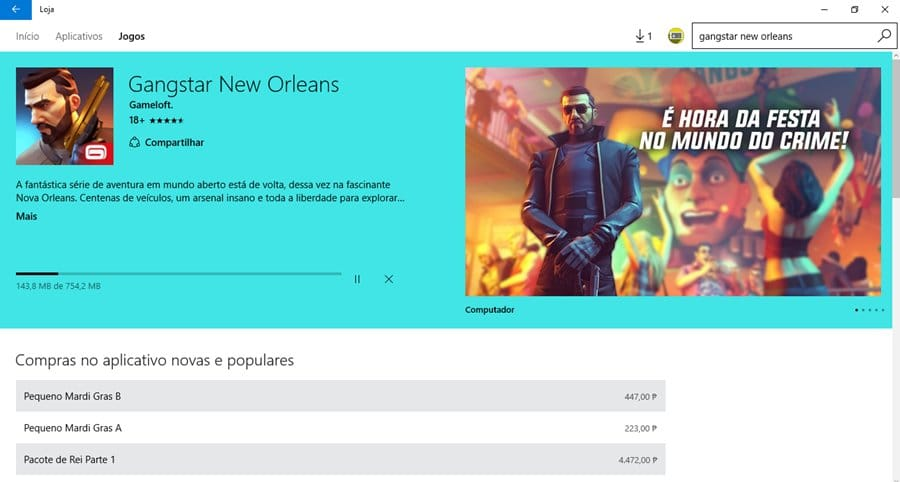 como-baixar-gangstar-new-orleans-pc-windows-10 Como baixar Gangstar New Orleans no PC com Windows 10