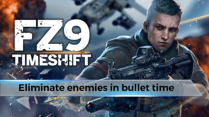 FZ9 Timeshift: jogo de tiro para Android com ação e câmera lenta