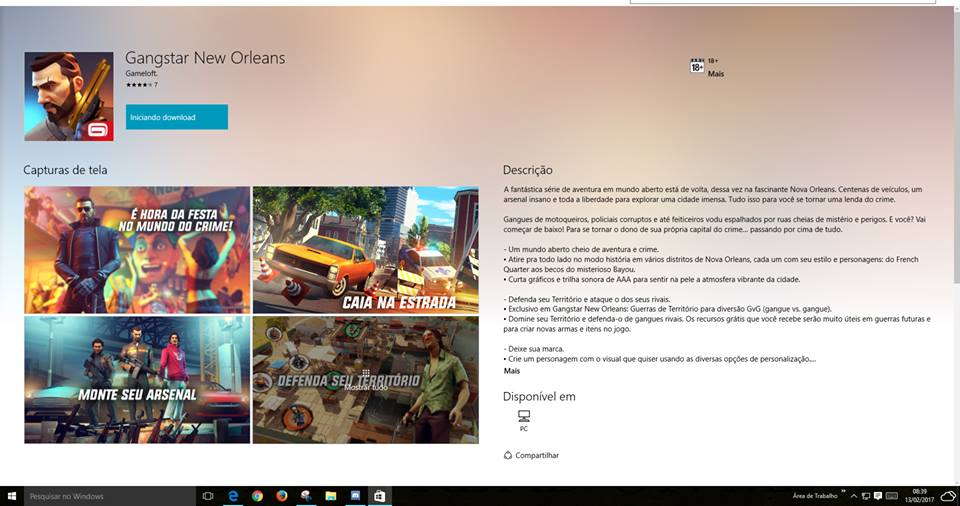 gangstar-new-orleans-windows10-mobile-windows-phone Gangstar New Orleans: Jogo entra em testes também no Windows 10 (PC)