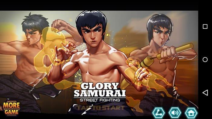 glory-samurai-briga-de-rua-bruce-lee-android-1 Glory Samurai Street Fighting: Bruce Lee em um jogo de pancadaria offline
