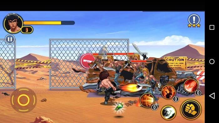 glory-samurai-briga-de-rua-bruce-lee-android-2 Glory Samurai Street Fighting: Bruce Lee em um jogo de pancadaria offline