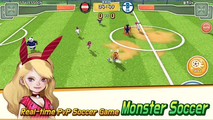 MonsterSoccer: jogo de futebol se inspira em Super Onze (Android e iOS)