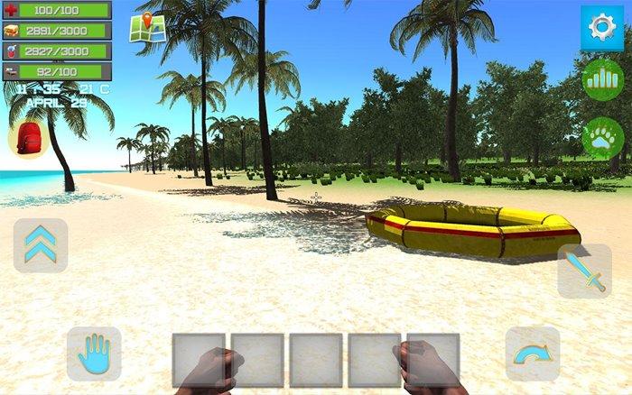 ocean-is-home-survival-game-android 25 Melhores Jogos de Sobrevivência OFFLINE para Android e iOS