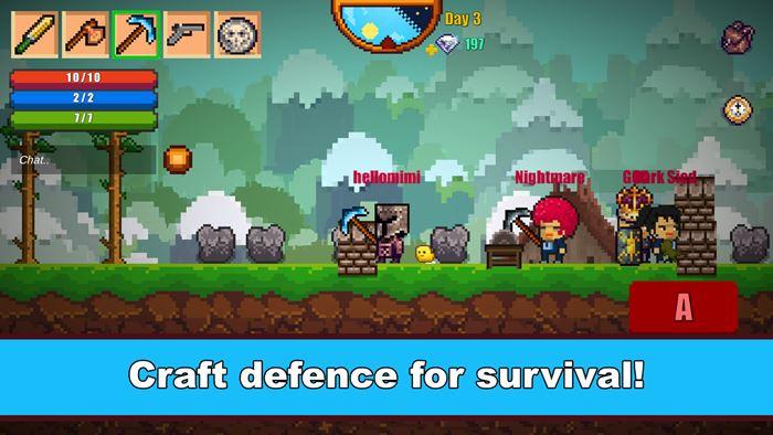 pixel-survive-2-android-ios 25 Melhores Jogos de Sobrevivência OFFLINE para Android e iOS