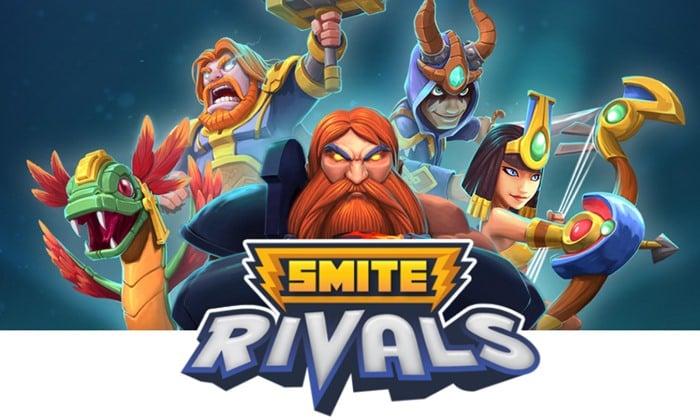 smite-rivals-android-ios SMITE Rivals: game parecido com Clash Royale abre pré-registro