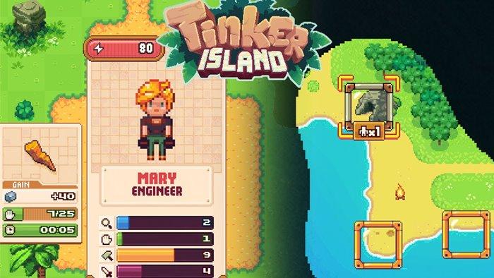 tinker-island-adventure-game-ios-android-review 25 Melhores Jogos de Sobrevivência OFFLINE para Android e iOS