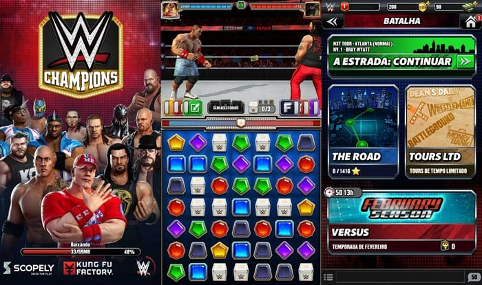 wwe-champions-android-ios-1 WWE Champions une puzzle e Wrestlemania no Android e iOS