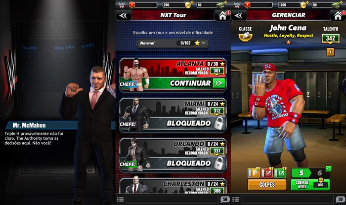 wwe-champions-android-ios-2 WWE Champions une puzzle e Wrestlemania no Android e iOS
