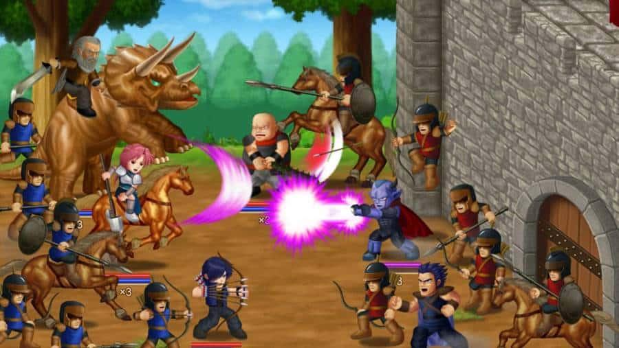 Hero-Fighter-X 25 Melhores Jogos de Luta OFFLINE para Android e iOS