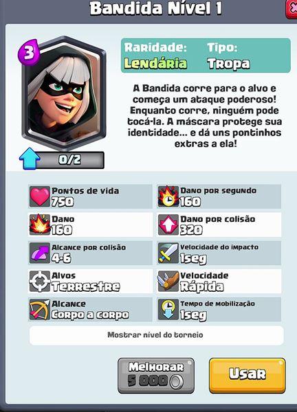 bandida-nova-carta-lendaria-clash-royale Clash Royale: 7 ERROS que todo jogador comete (ou já cometeu)
