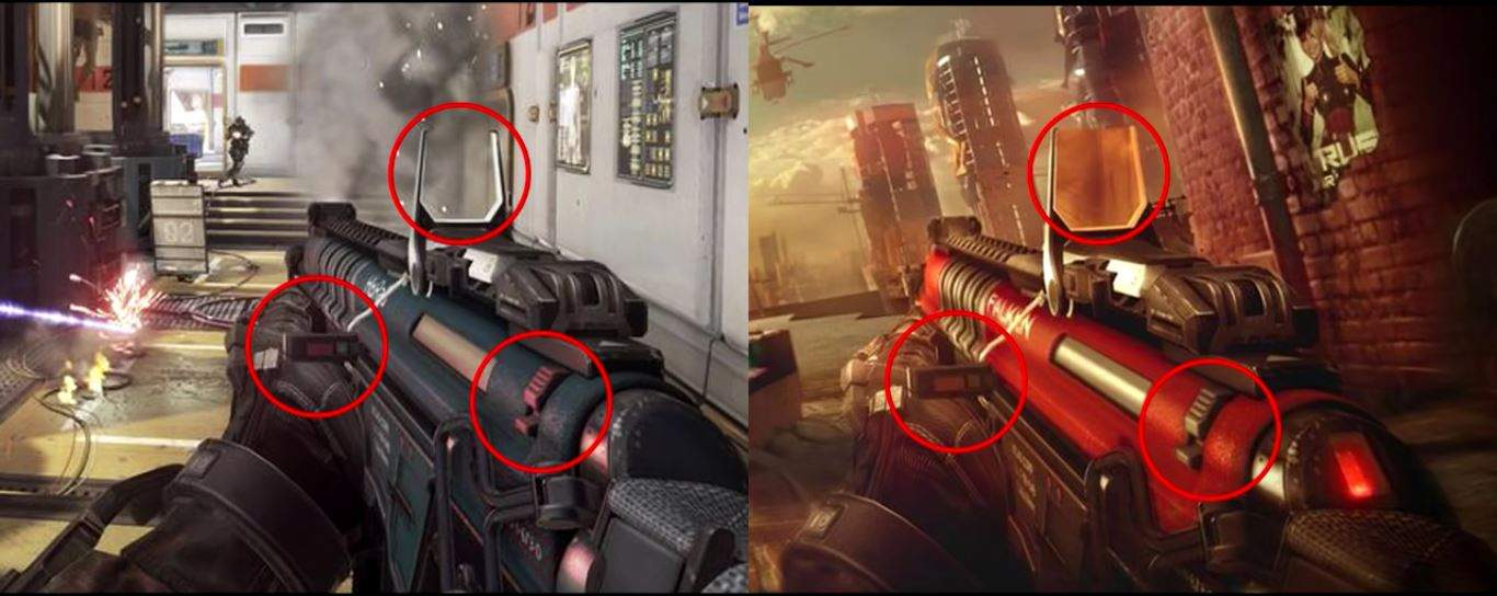 Polêmica: imagem de Modern Combat Versus quase idêntica a Call of Duty