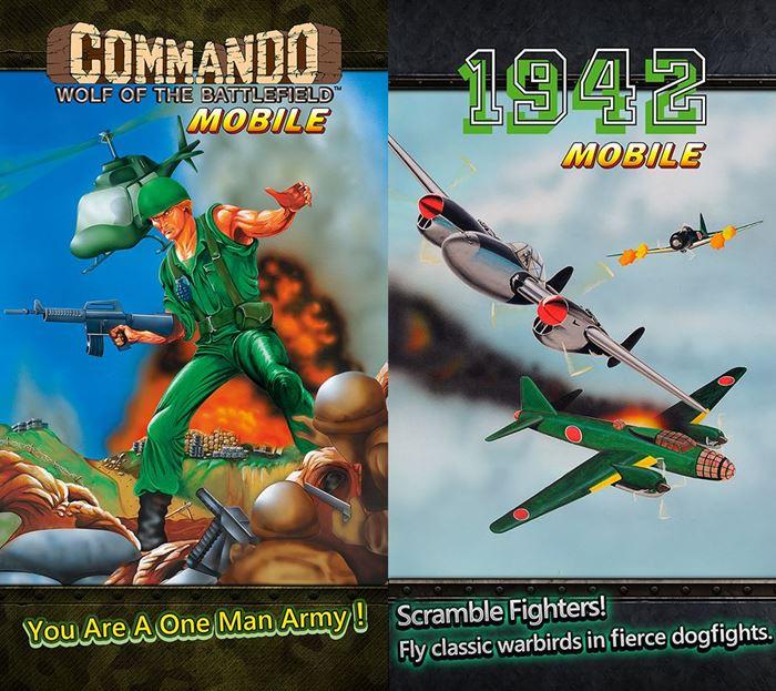commando-1942 Depois de Mega Man, CAPCOM lança outros jogos antigos no Android e iOS