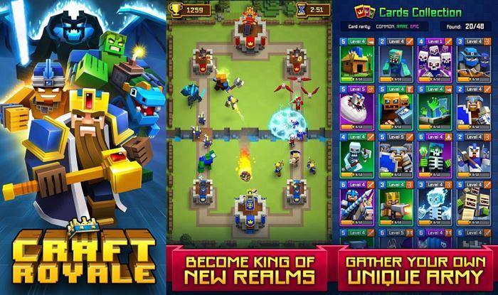 craft-royale-android-ios Conheça Jogos Parecidos (e Clones) de Clash Royale