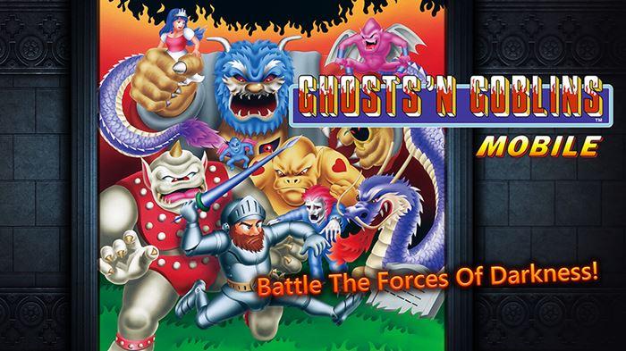 ghostn-goblins Depois de Mega Man, CAPCOM lança outros jogos antigos no Android e iOS