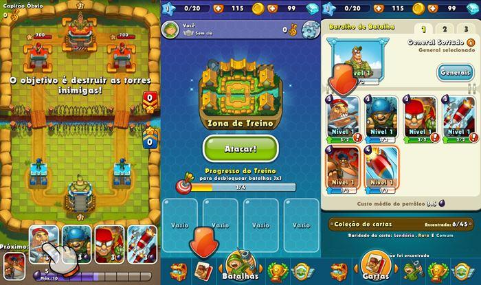 jungle-clash-clone-clash-royale-android-ios Conheça Jogos Parecidos (e Clones) de Clash Royale