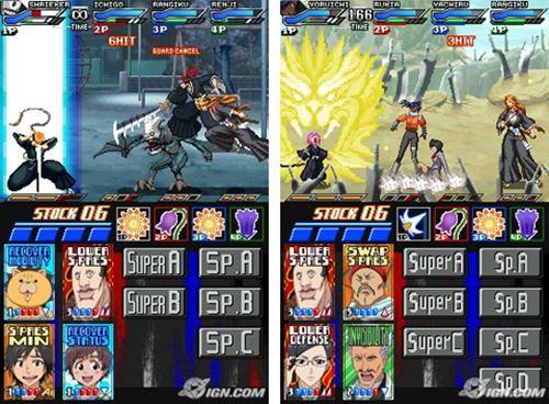 bleach-dark-souls-nintendo-ds-drastic 25 Melhores Jogos para o DraStic (Emulador do Nintendo DS)