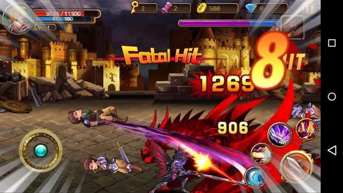 brave-fighter-2-android-ios-1 Brave Fighter 2 é uma aventura offline para quem curte cavaleiros e dragões